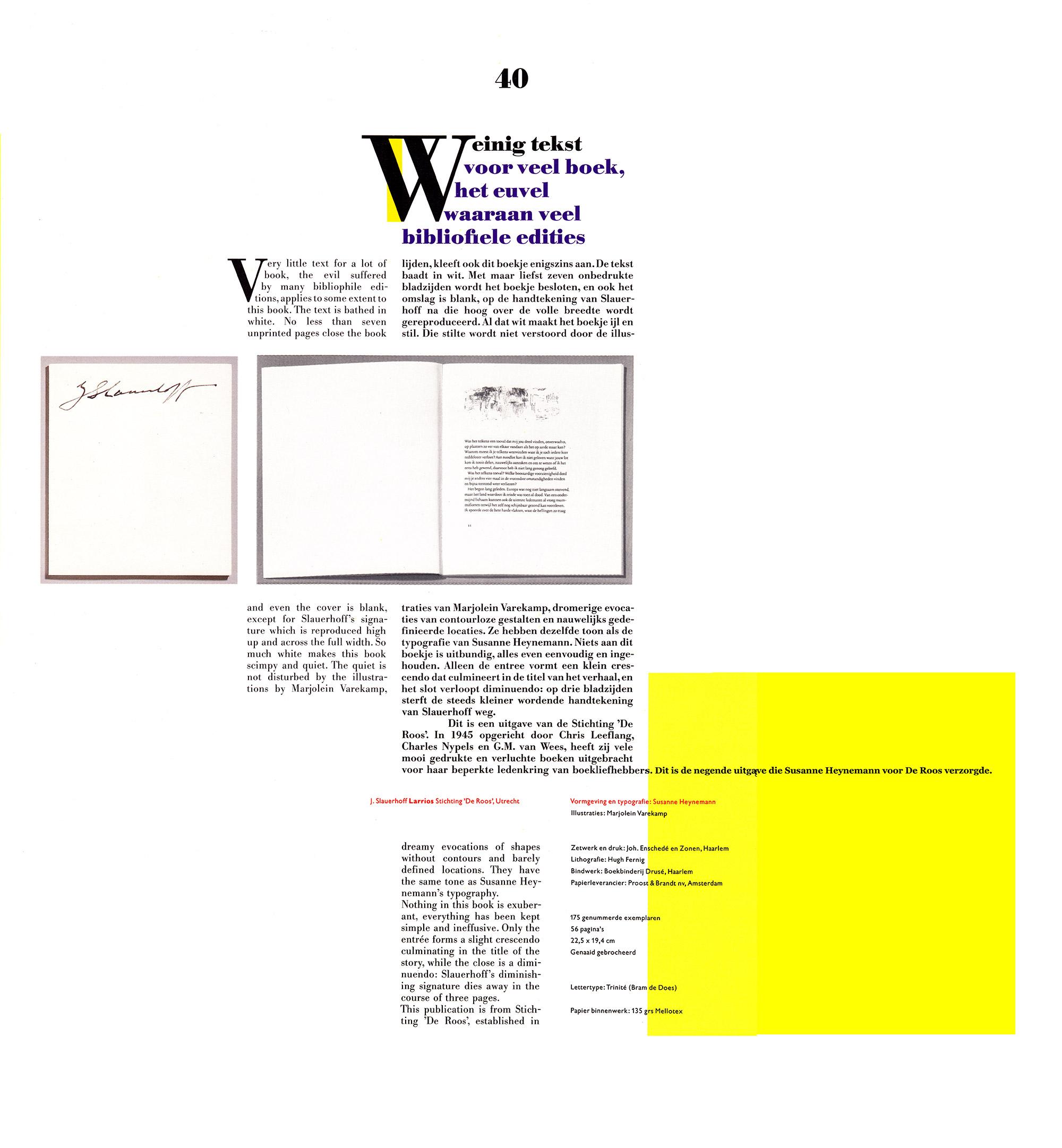 Marjolein Varekamp The Best Book Designs 1986 Cpnb